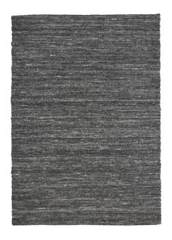 Shena Hand Woven Wool Charcoal Area Rug Rug Size: 8'3