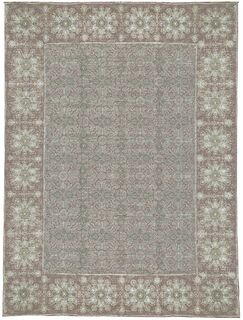 One-of-a-Kind Ottoman Handwoven Wool Brown/Gray Indoor Area Rug
