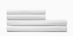 Body Fitted Sheet Size: Twin XL, Color: White