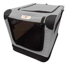 Soft Pet Carrier Color: Gray, Size: Small (21