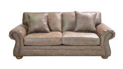 Hutt Stationary Sofa Upholstery: Light Brown