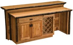 Hickory Home Bar Color: Rustic Maple