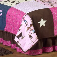 Cowgirl Queen Bed Skirt