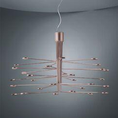 Arbor 30-Light  LED  Chandelier Finish: Copper/Silver