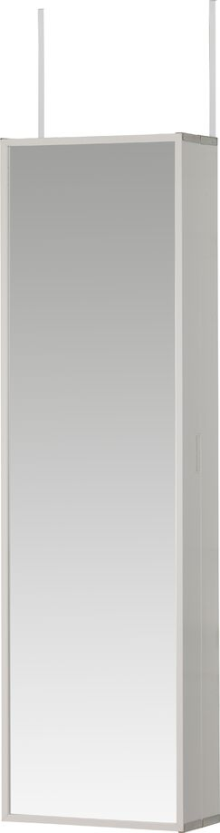 Cosmetic-Beauty (Make Up) & Jewelry Armoire Color: White