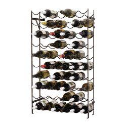 Joye Cellar 60 Bottle Floor Wine Bottle Rack