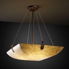 Genaro 3-Light Bowl Pendant Metal Finish: Dark Bronze