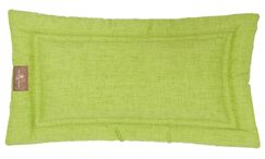 Indoor/Outdoor Cozy Mat Color: Lime, Size: Extra Large (42