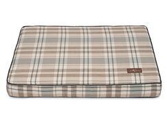 Kensington Fog Premium Cotton Blend Rectangular Memory Foam Pillow/Classic Dog Bed Size: 5