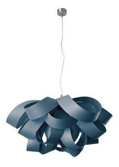 Agatha 3-Light Novelty Chandelier Finish: Blue, Bulb Type: GU24 Base, Size: Large