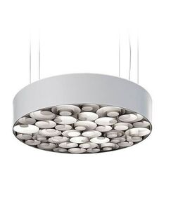 Spiro 4-Light Pendant Base Finish: White