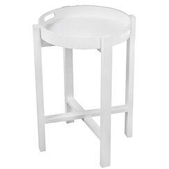 Aledo Tray Table Color: White