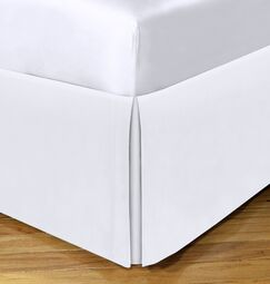 Space Saver Tailored Underbed Storage Bedskirt Size: Full