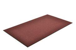 Solid Estes Doormat Color: Burgundy, Mat Size: Rectangle 3' x 4'