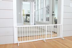 Extension for Step Over Gate Finish: White