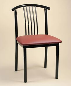 Gabby Side Chair (Set of 2) Upholstery Color: New Soho: Claret