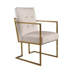 Greenwich Armchair Upholstery: Ivory