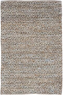 Hand-Woven Beige/Grey Area Rug Rug Size: Runner 2'6