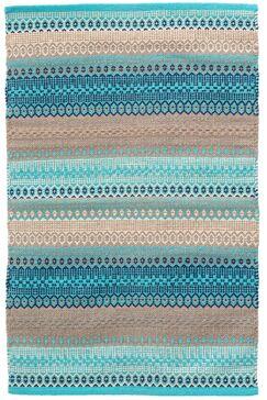 Gypsy Blue/Gray Area Rug Rug Size: 2' x 3'
