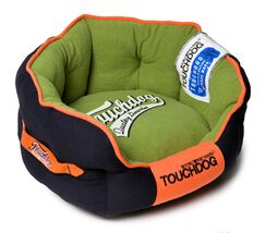 Original Castle-Bark Ultimate Rounded Premium Dog Bed Size: Medium (21.7