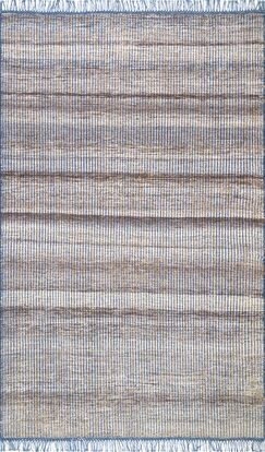 Parry Hand Woven Beige Area Rug Rug Size: Rectangle 2' 6
