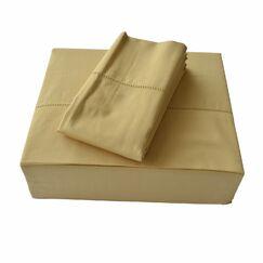 Isabelle 310 Thread Count Sheet Set Size: King, Color: Gold
