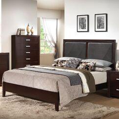Welcher Upholstered Panel Bed Size: Eastern King