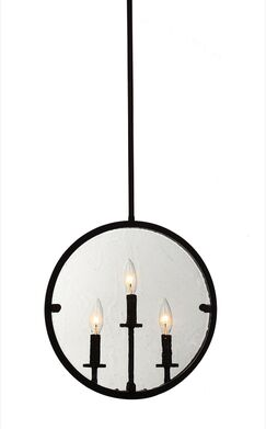 Harbor Point 3-Light Geometric Pendant Finish: Oil Rubbed Bronze