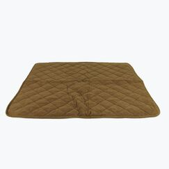 Diamond Quilt Microfiber and Cloud Sherpa Throw Color: Chocolate