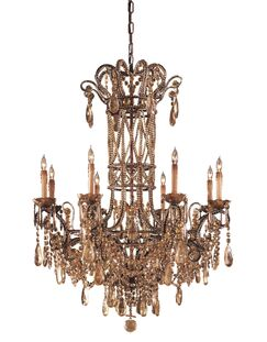 8-Light Candle Style Chandelier