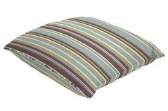 Sunbrella Single Piped Throw Pillow Size: 24