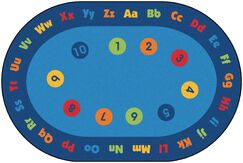 Value Plus Circletime Early Learning Area Rug Rug Size: 6' x 9'