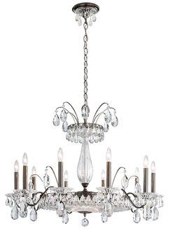 Fontana Luce 12-Light Chandelier Finish: Silver
