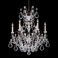 Versailles 6-Light Candle Style Chandelier Finish: Etruscan Gold