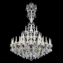 La Scala 45-Light Chandelier Finish: Midnight Gild