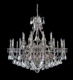 Sophia 24-Light Chandelier Finish: French Gold, Crystal Color: Strass Silver Shade
