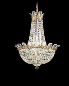Roman 10-Light Chandelier Finish: Etruscan Gold, Crystal Color: Swarovski Spectra