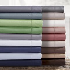 750 Thread Count Egyptian Quality Cotton Extra Deep Pocket Sheet Set Color: Dark Chocolate, Size: King
