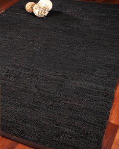 Atlanta Leather Hand Loomed Area Rug Rug Size: Rectangle 8' x 10'