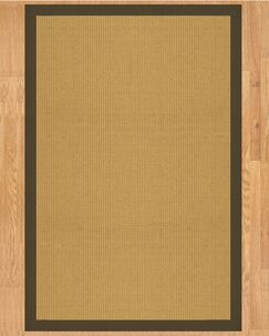 Victoria Hand Crafted Malt Area Rug Rug Size: Rectangle 6' x 9'