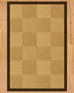 Osaka Hand Crafted Fudge Area Rug Rug Size: Rectangle 5' x 8'