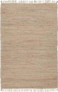 Moscow Hand-Woven Beige Area Rug Rug Size: Rectangle 5' x 8'