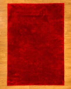 Merida Shag Red Area Rug Rug Size: Rectangle 8' x 10'