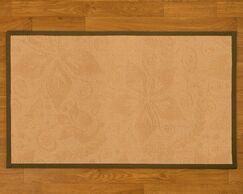 Handmade Beige Area Rug Rug Size: Rectangle 2' x 3'
