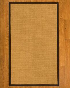 Asther Hand Woven Fiber Sisal Brown/Fudge Area Rug Rug Size: Rectangle 2' x 3'