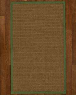 Aderyn Hand Woven Brown Area Rug Rug Size: Rectangle 6' X 9'