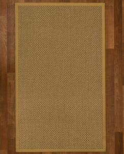 Loehr Handwoven Brown Area Rug Rug Size: Rectangle 6' X 9'