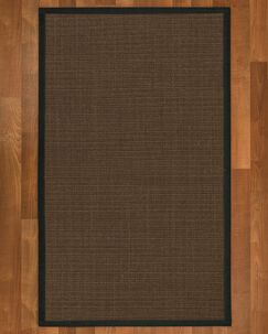 Brokaw Hand Woven Brown Area Rug Rug Size: Rectangle 3' X 5'