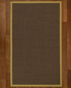 Brokaw Modern Hand Woven Brown Area Rug Rug Size: Rectangle 6' X 9'