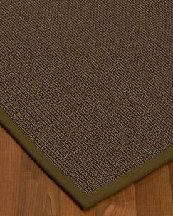 Brokaw Modern Hand Woven Solid Brown Area Rug Rug Size: Rectangle 3' X 5'